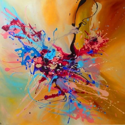 Fuchsia Fusion, by Iti Das